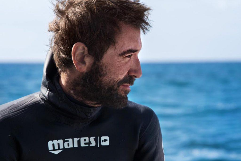 orca dive clubs kooperation mit nik linder- der mares test