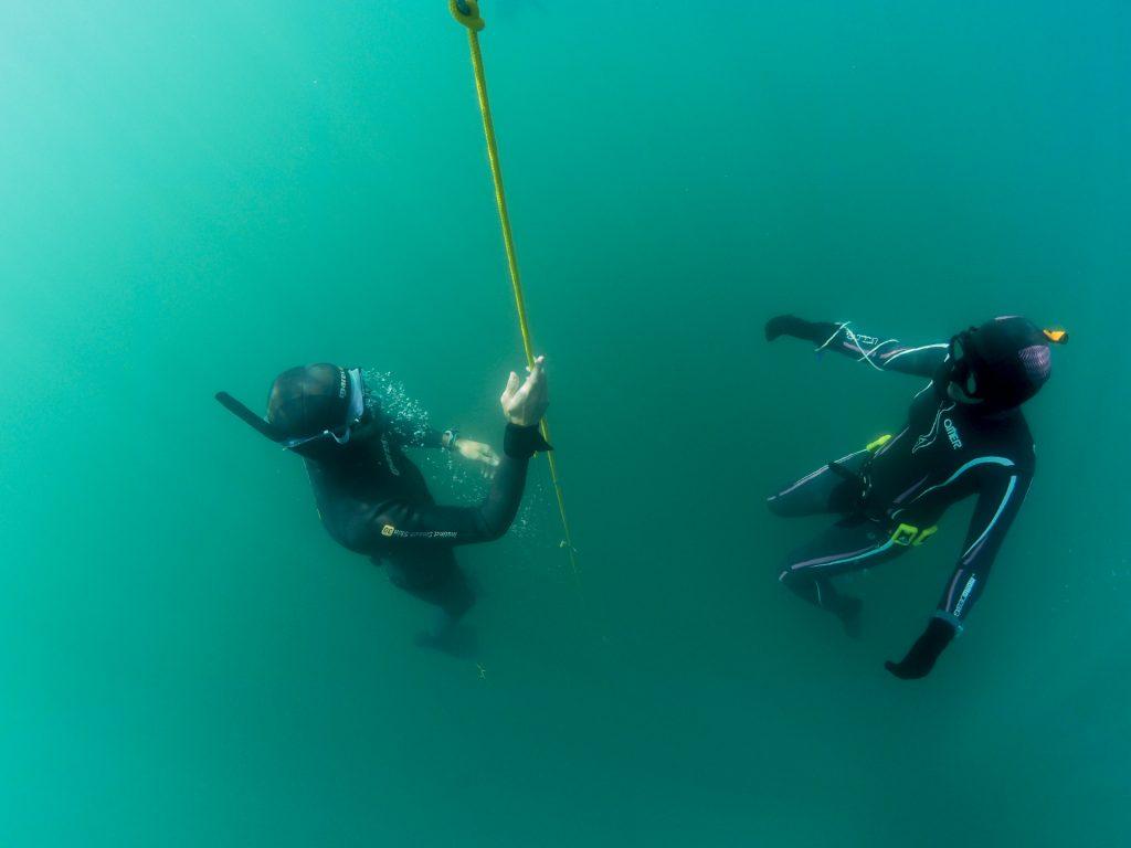 Freediving Woche am Genfer See mit Nik Linder und Phil Scuba - Apnoetauchen und vieles mehr - Yoga und Relaqua
