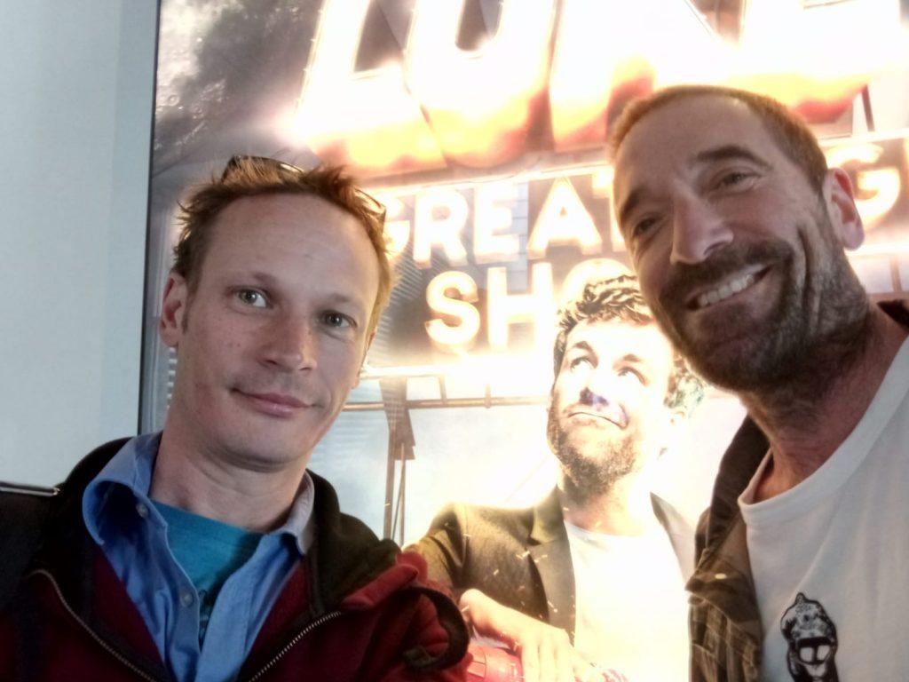 Nik Linder bei Sat 1 und Luke die Schule und ich - Apnoe Weltrekord